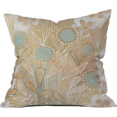 Floral Throw Pillow Size: 18 x 18
