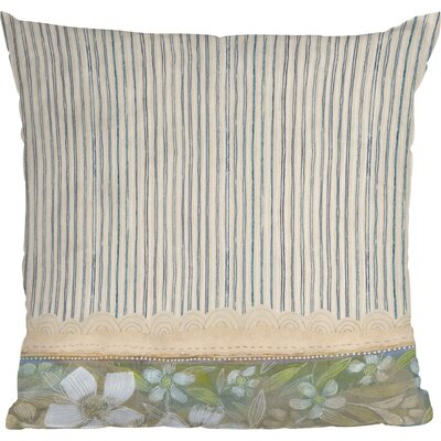 Stripes Indoor Throw Pillow Size: 18 x 18