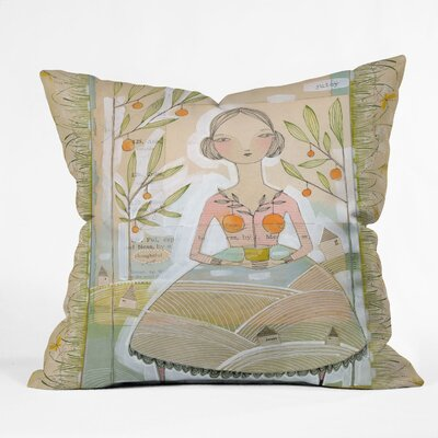 Always Thoughtful Throw Pillow Size: 18 x 18
