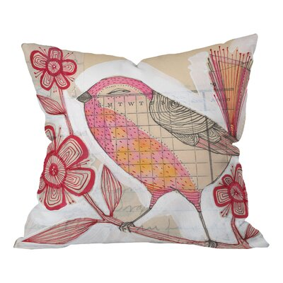 Wee Lass Throw Pillow Size: 18 x 18