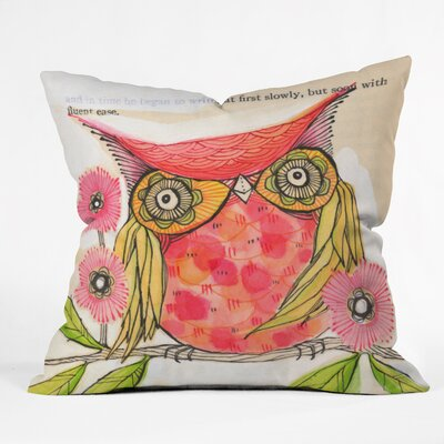 Miss Goldie Throw Pillow Size: 16 x 16