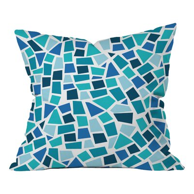 Khristian A Howell Baby Beach Bum Throw Pillow Size: 18 x 18, Color: Green