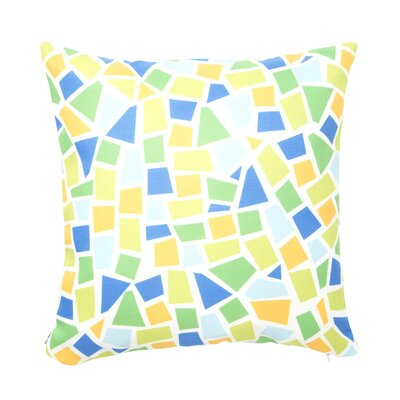 Baby Beach Bum Throw Pillow Size: 16 x 16, Color: Yellow