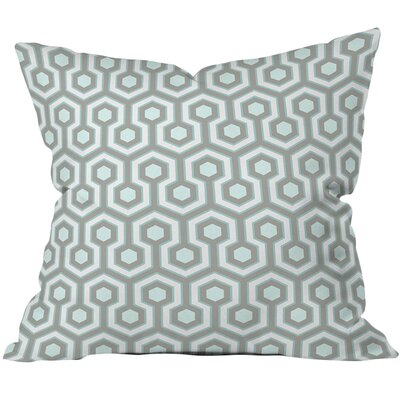 Caroline Okun Icicle Outdoor Throw Pillow Size: 16 H x 16 W x 4 D