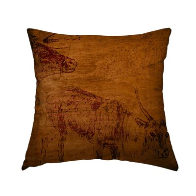 Rustic Retreat 6 Throw Pillow Size: 16 H x 16 W x 1.5 D