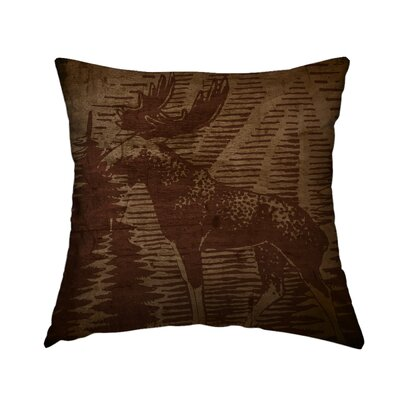 Rustic Retreat 8 Throw Pillow Size: 16 H x 16 W x 1.5 D