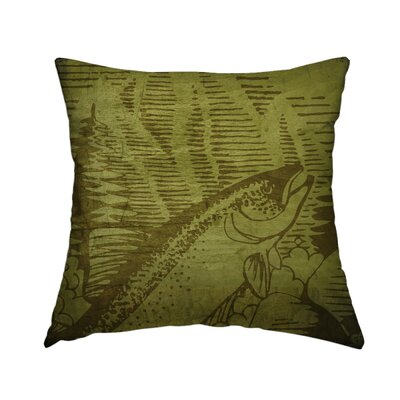 Rustic Retreat Throw Pillow Size: 14 H x 14 W x 1.5 D