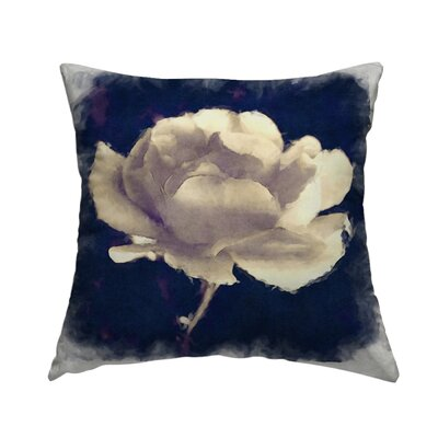 Melancholy Rose Throw Pillow Size: 16 H x 16 W x 1.5 D