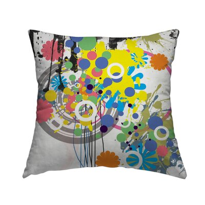 Pattern 13 Throw Pillow Size: 18 H x 18 W x 1.5 D