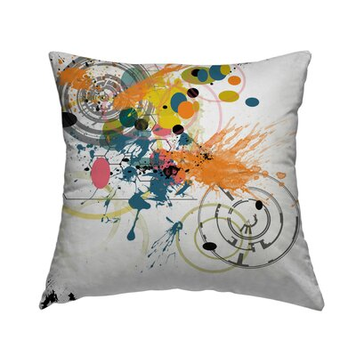 Pattern 12 Throw Pillow Size: 18 H x 18 W x 1.5 D