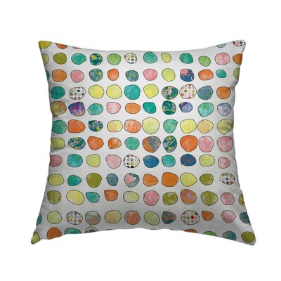 Pattern 15 Throw Pillow Size: 16 H x 16 W x 1.5 D
