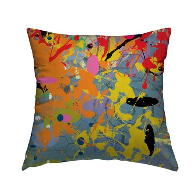 Pattern 14 Throw Pillow Size: 14 H x 14 W x 1.5 D