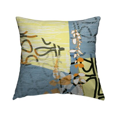 Pattern 16 Throw Pillow Size: 14 H x 14 W x 1.5 D