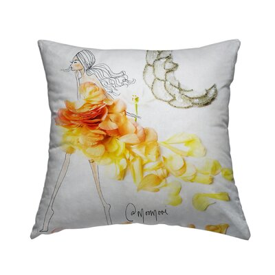 Moon Dance Throw Pillow Size: 18 H x 18 W x 1.5 D