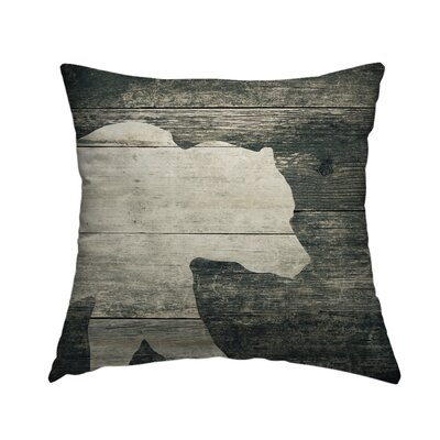 Cabin Throw Pillow Size: 16 H x 16 W x 1.5 D