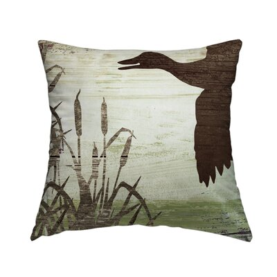 Cabin 5 Throw Pillow Size: 16 H x 16 W x 1.5 D