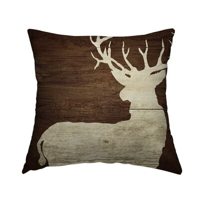 Cabin 6 Throw Pillow Size: 14 H x 14 W x 1.5 D