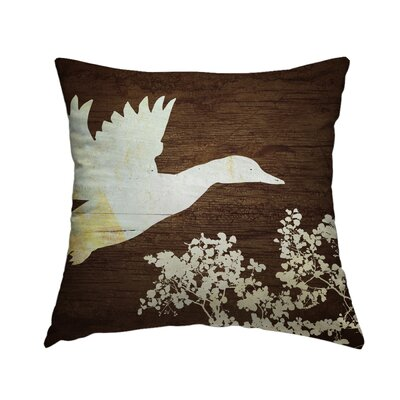 Cabin 12 Throw Pillow Size: 14 H x 14 W x 1.5 D