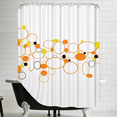 Pattern 10 Cotton Shower Curtain