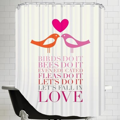 Birds Do It Shower Curtain