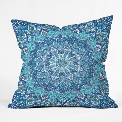 Throw Pillow Size: 18 H x 18 W x 5 D, Color: Blue