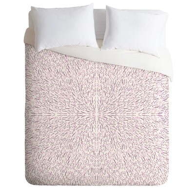 Duvet Cover Set Size: King, Color: Lilac