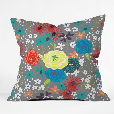 Bloomimg Love Throw Pillow Size: Extra Large