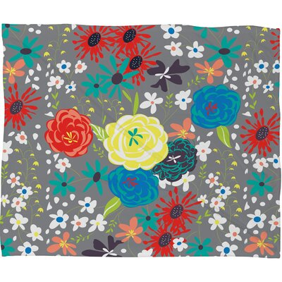 Bloomimg Love Throw Blanket Size: Small
