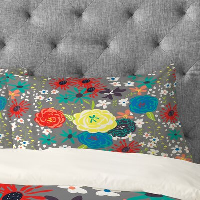 Vy La Bloomimg Love Pillowcase Size: King