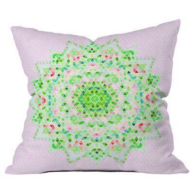 Forever Spring Irndoor/Outdoor Throw Pillow Size: 18 x 18
