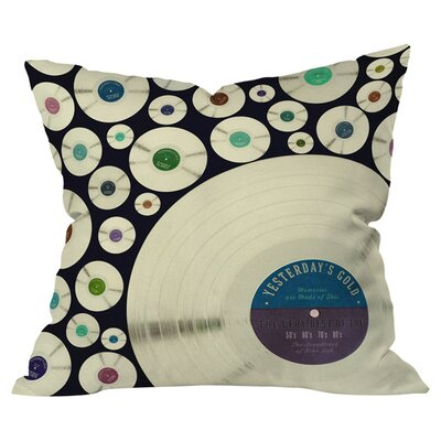 Evergreen Music Indoor/ Outdoor Throw Pillow Size: 20 x 20