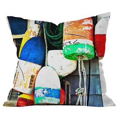 Down East Indoor/ Outdoor Throw Pillow Size: 16 x 16