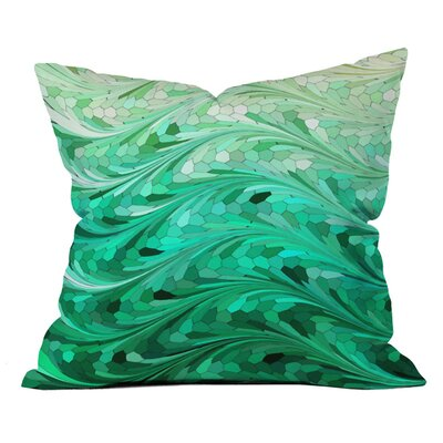 Emerald Sea Indoor/Outdoor Throw Pillow Size: 20 x 20