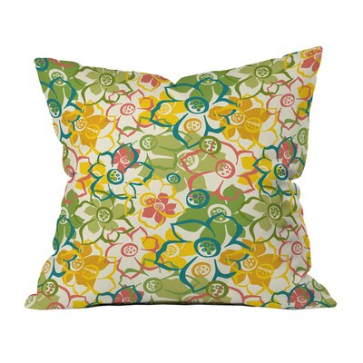 Bouquet Indoor/Outdoor Throw Pillow Size: 20 x 20