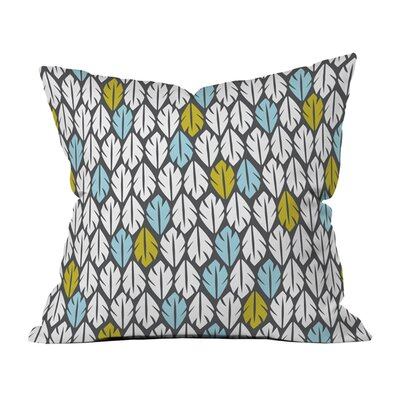 Foliar Indoor/Outdoor Throw Pillow Size: 18 x 18