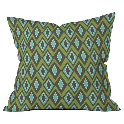 Diamant Indoor/Outdoor Throw Pillow Size: 18 x 18