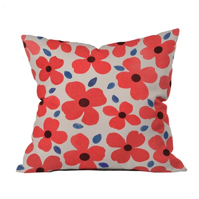 Dogwood Indoor/Outdoor Throw Pillow Size: 20 x 20