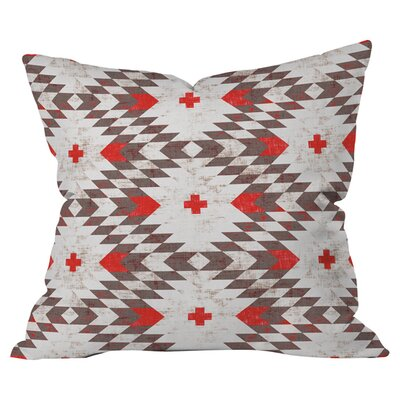 Native Rustic Indoor/Outdoor Throw Pillow