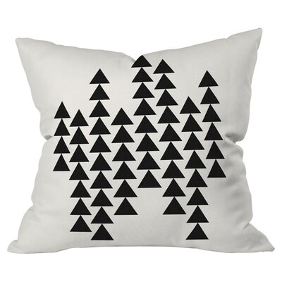 Arrowing Indoor/Outdoor Throw Pillow