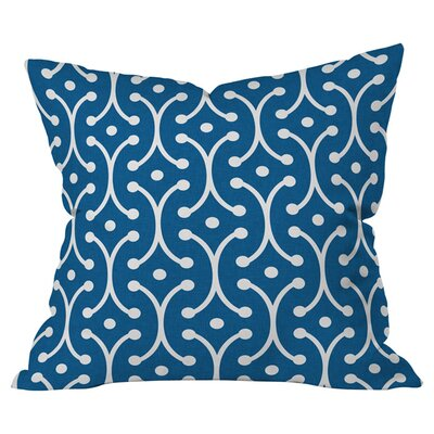 Denim Picket Indoor/Outdoor Throw Pillow