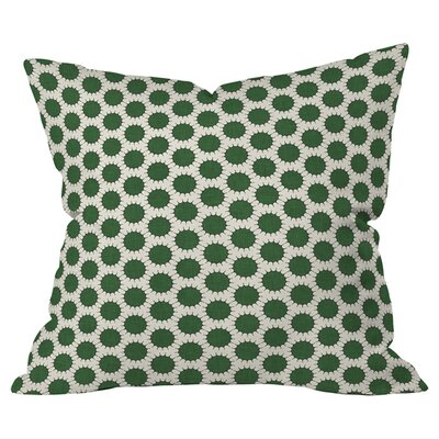 Pincushion Dot Indoor/Outdoor Throw Pillow