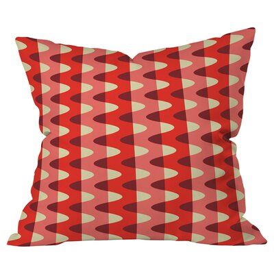 Zig Zag Outdoor Throw Pillow