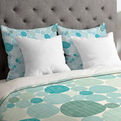 Camilla Foss Eggs I Duvet Cover Size: King, Fabric: Lightweight