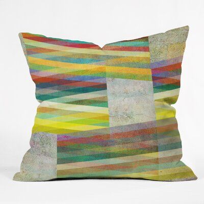 Graphic 9 Throw Pillow Size: Medium