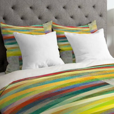 Mareike Bohmer Graphic 9 Duvet Cover Size: King, Fabric: Lightweight