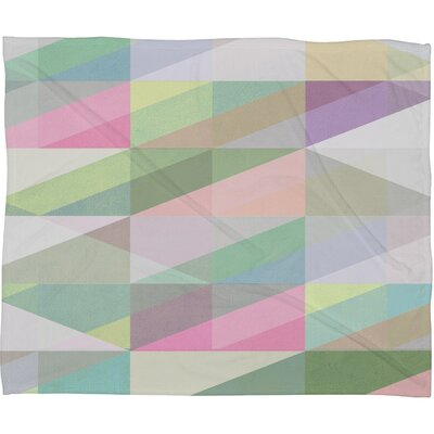 Nordic Combination 8 XY Fleece Throw Blanket Size: 60 H x 50 W