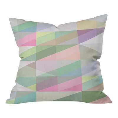 Mareike Bohmer Nordic Combination 8 XY Indoor Throw Pillow Size: Small