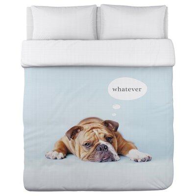Good Morning - Good Night - Lightweight Duvet Cover Size: Full/Queen