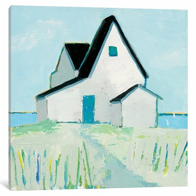 'Cottage by the Sea' Painting Print on Canvas ESUR1939 37299902