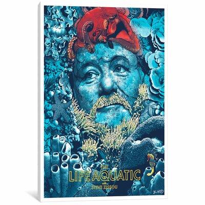 'The Life Aquatic with Steve Zissou' Vintage Advertisement Print on Canvas EAUU1211 37486164